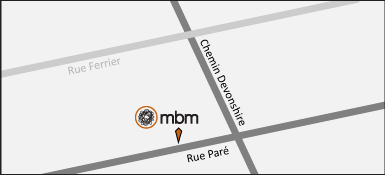 MBM map Montreal